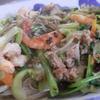 幸運な病のレシピ( 713 )昼:八宝菜風 野菜と豚ひき肉とエビの炒め