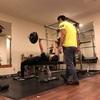 5ヶ月目の女性のトレーニング模様  〜おじさんトレーナーだから逆にやりやすかったそうです(笑)〜