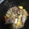 炊飯器で酒の肴!豚バラ軟骨の甘辛煮作ったよ!