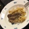 豚肩ロース肉と塩もみキャベツの煮込み