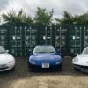 英国マツダが所有しているスポーツカーコレクションを特集した記事。
