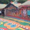 彩虹眷村~rainbow village~  台湾 台中のカラフルな壁画の写真はここのこと