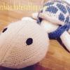 """【Ravelry】棒針で編む編みぐるみ""""Sheldon""""。甲羅の付け替えができる亀のあみぐるみ。"""