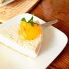 暑い日に簡単レアチーズ風ヨーグルトケーキ
