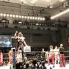 初めての新日本プロレス。
