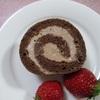 チョコレートのロールケーキ