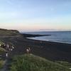 砂浜、ブラックサンドビーチ(砂の浜)