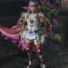 MHF-Z 辿異エスピナス武器使用 双剣装備