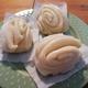 手作り花巻。ふわふわな中国の蒸しパン