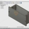 Fusion 360 9V電池 固定具 3Dモデリング編