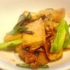 オイスター春巻き、絹厚揚げ豆腐と豚肉、玉子焼き