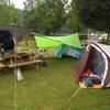 今年最初の自転車キャンプ