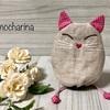 猫の巾着袋・ユニークな「猫ムシちゃん」