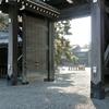 冬の京都御苑『八・一八政変(堺町御門の変)』