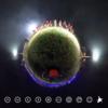 ソレイユの丘 夜のアルペンホルン 360で撮影 #360pic