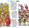 令和元年12月の絵「十三仏信仰と十二神将」