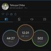 2021/8/12 テンポランの予定がキプチョゲ選手をイメージしてTペース走 12kmに!
