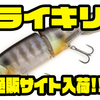 【kaesu】人気の浮力調整出来るルアー「ライキリ」通販サイト入荷!