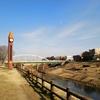 利根運河へ
