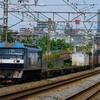 7月19日撮影 東海道線 平塚~大磯間 貨物列車撮影① 1155ㇾ 5075ㇾ 3075ㇾ