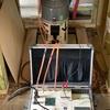 上棟から10日後にi-smartの気密測定がありました