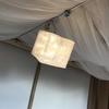 【2段ベッド下段の照明に最適】充電不要のランタン