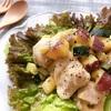鶏胸肉とさつまいもの塩麹ガーリック炒め【#鶏胸肉 #さつまいも #ズッキーニ #レシピ #塩麹】