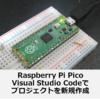 Raspberry Pi Pico Visual Studio Codeで新しいプロジェクトを作成して書き込む