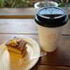 静岡県立美術館「草間彌生展:永遠の永遠の永遠」と、コーヒーケーキとコーヒー。