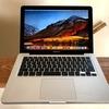 MacBookPro(13-inch, Early 2011)SSD化、ElCapitanにアップデートできず困った話