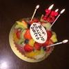 次女の15回目の誕生日を家族でお祝い
