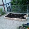 土壌改良のその後 と花壇の植え替え