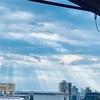 光射す朝✦神戸の空はほんとにキレイ