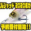 【レイドジャパン】高精細シャッドプラグ「レベルシャッド 2020年カラー」通販予約受付開始!