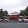 雪の八坂神社と円山公園へ(京都)…過去20160301