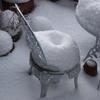 ドーナッツの積雪