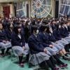 山口県の高校で食育講演