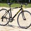 中古ロードバイクルック車を整備する (3) クロスバイクとして再生しました