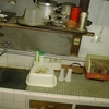 システムキッチン取付2-1(古いタイル流しから取替)
