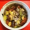 野菜と豚ヒレ肉のオーブン焼き