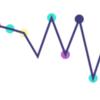 Processingで折れ線グラフみたいなのを描く