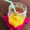 子供が楽に薬を飲める方法は?オレンジジュースを小瓶に入れてちょっとオシャレに✨
