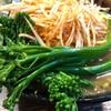 座間ゆたか農園産スティックブロッコリーと辛ネギラーメンとの相性は抜群だった‼️クックらな昼下がり。