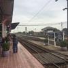 アユタヤからバンコクに向かう列車の中で綴った日記。