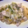 鶏肉と白菜のネギダレ炒め ヘルシオホットクックで自炊(88)