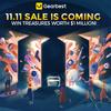 GearBestで「双11スーパーセール」が開催中!1年で1番安い日は本日です(^O^)/