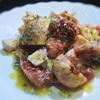 イチジクと鶏ハムのカスタード&アマレット風味