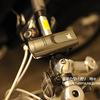 点灯しないで夜道を走行するのは危険です。70m先まで明るい自転車用ライト。エネループで光るのでペダル楽ちん。GENTOS(ジェントス)LED Bike Light BL350MG 明るさ80 自転車 ライト