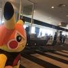 空港にやってきたど