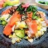 夏の鮭寿司のレシピ